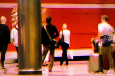 Awaiting ~~~~~~~~~~~~~~~~~~~~~~~~ Digital painting / Photo manipulation. Photo taken at Potsdamer Platz Station in Berlin, Germany Original file format: jpg   9600*14400 px   300 dpi Created: October 2013/January 2014 Creator / Copyright: Li van Saathoff ♛ All rights reserved ~~~~~~~~~~~~~~~~~~~~~~~~ Available as a high quality print on demand