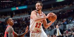 My favorite Bull since Michael. Goes full throttle every night and never lets up. #JoakimNoah