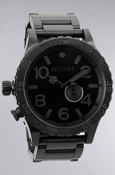 Nixon The 5130 Tide Watch in All Black - DSCNT20 Rep Code for 20% Off!