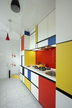 А у меня Мондриан: абстракционизм на кухне