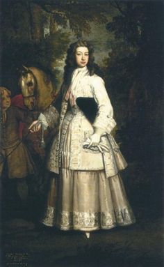 Frances Pierrepont, Countess of Mar - G Kneller, 1715