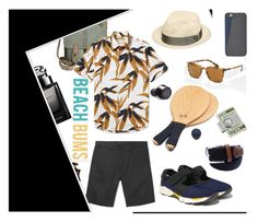 """""""Chic and Sea, Men"""" by fl4u ❤ liked on Polyvore featuring Patricia Nash, American Coin Treasures, FOSSIL, iCanvas, Bond No. 9, Gucci, men's fashion, menswear and islandgetaway"""