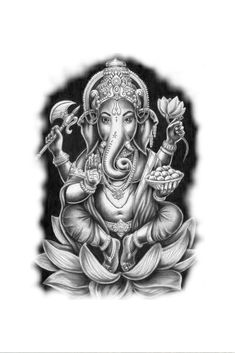 #GanapatiTattooDesign#SatiShivTattoo#Tattoo#Tattoo#customtattoodesign#Design#SagarWaghela#DesignBySagarWaghela Half Sleeve Tattoos Drawings, Left Arm Tattoos, Leg Tattoos Women, Cool Forearm Tattoos, God Tattoos, Body Art Tattoos, Elephant Tattoos, Animal Tattoos, Clavicle Tattoo