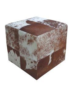 SIT Möbel Sitzwürfel Braun-Weiß This & That kaufen im borono Online Shop