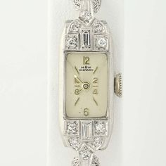 Hey, I found this really awesome Etsy listing at https://www.etsy.com/listing/513558441/art-deco-ladies-diamond-watch-900