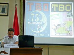 El historiador valenciano, Oscar Gual ofrece una conferencia en Segorbe sobre el TBO, un comic para unos tiempos difíciles