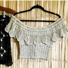 By Mariza Crochet Designer: Blusa Crochet Ciganinha