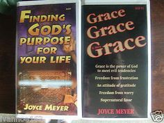 JOYCE+MEYER:+Finding+God's+Purpose+for+Your+Life+&+GRACE+GRACE+&+MORE+GRACE+CASSETTE