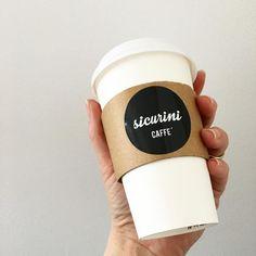 Cappuccino To Go  #sicurini #sicurinicaffe #togo #takeaway  #cappuccino #espresso #kaffee #coffee #caffe