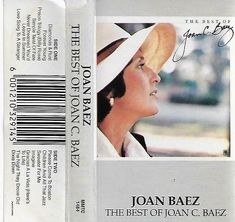 Joan Baez - The Best of Joan C. Child Please, Joan Baez, Cassette Tape, One Sided, Prison, South Africa, Folk, Polaroid Film, Good Things