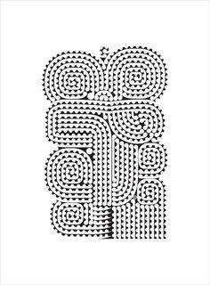 Ngataiharuru TAEPA, Te Pitau a Tiki - Revisited (unframed), 2012 Maori Patterns, Maori Designs, New Zealand Art, Nz Art, Pattern And Decoration, Maori Art, Kiwiana, Textures Patterns, Art Inspo