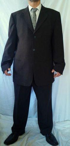 #twitter#tumbrl#instagram#avito#ebay#yandex#facebook #whatsapp#google#fashion#icq#skype#dailymail#avito.ru#nytimes #i_love_ny     BATISTINI Brown Solid Suit sz EU 56 US 3XL #BATISTINI #ThreeButton