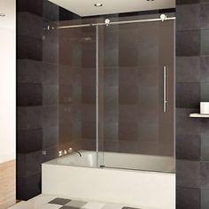 9 best shower barn door images bathroom glass doors glass pocket rh pinterest com