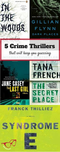 If you've ever annoyed anyone will your guesses and theories about the murderer, this list is for you. Here's 5 crime thrillers that will keep you guessing | Lunch-Time Librarian