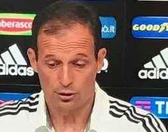 """Juve, Allegri:""""Voglio rimanere qui"""" massimiliano allegri desidera rimanere alla juventus. durante la conferenza stampa  che il suo desiderio sarebbe quello di rimanere in bianconero, infatti, appena la societa lo chiamera per il contra #juventus #allegri #calcio #seriea #news"""