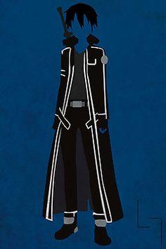Kirito SAO Sword Art Online - Love theAnime and This is amazing.