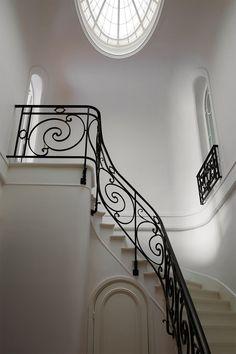 Penthouse Apartment, Parisian Apartment, Paris Apartments, Apartment Design, French Apartment, Dream Apartment, Apartment Living, Living Rooms, Christina Cole
