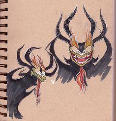 WHO DARES - skulliens doodlin' blog is not safe for work