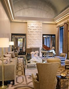 STYLISH HOME: A Manhattan penthouse by designer Charles Allem