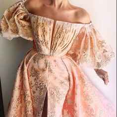 Details - Light pink color - Embroidered tulle fabric - Handmade embroidery flowers - Ball-gown dress, two-in-one style with waist definition - Party and evening dress Girls Dresses, Flower Girl Dresses, Prom Dresses, Princess Dresses, Ball Gown Dresses, Evening Dresses, Elegant Dresses, Pretty Dresses, Fantasy Gowns