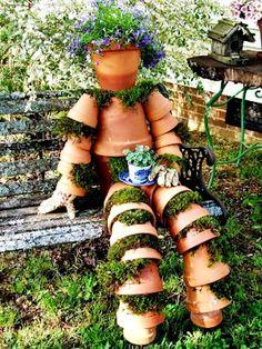 Special DIY No Human on your garden