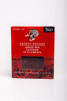 Krokos Kozanis Zafferano Rosso Bio in filamenti