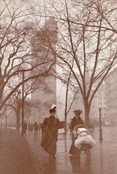 Flatiron Building ca. 1912 Photo by Dr. Albert R. Benedict