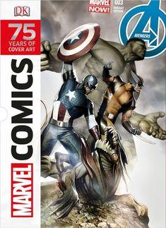 Marvel Comics: 75 Years of Cover Art: DK Publishing, Adi Granov: 9781465420404: Amazon.com: Books