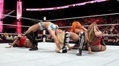 Video: NXT stars Charlotte, Sasha Banks, Becky Lynch debut on Raw; huge brawl breaks out