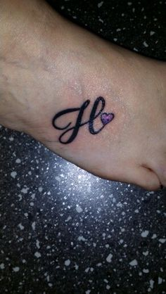 ca8cab8b7af Designing Simple Initial H Tattoo Design Calligraphy Style - YouTube ...