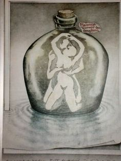 Pervert Test; The vase shows either a couple having sex or nine dolphins! Lol, I can see both ;)