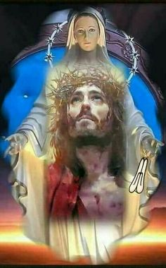 Pin by Madelene Reyes on Virgin mary Mary Magdalene And Jesus, Mary And Jesus, Jesus Is Lord, Jesus And Mary Pictures, Pictures Of Jesus Christ, Image Jesus, Jesus Photo, Christian Images, Bride Of Christ