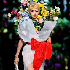 Highlights from Milan Fashion Week 2017 Joan Smalls, Kaia Gerber, Jeremy Scott, Gigi Hadid, Editorial Photography, Fashion Photography, Photography Magazine, Moschino, Fashion Models