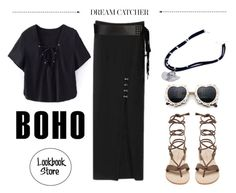 """""""Resolution: Be BOHO"""" by lookbookstore ❤ liked on Polyvore featuring French Connection"""