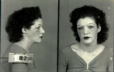 Mary Shepperd, années 1940. Arrested in Montreal for prostitution
