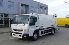 NTM K-MIDI 6m3 FUSO CANTER 8,5t NTM K-Mini mała śmieciarka dla grupy REMONDIS, small garbage truck, klein Kommunalfahrzeug, Benne a ordures, Recolector, piccoli camion