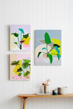 Leah Bartholomew - The Design Files Painting Inspiration, Art Inspo, Inspiration Wall, Greenhouse Interiors, The Design Files, Arte Pop, Art And Illustration, Illustrations, Art Plastique