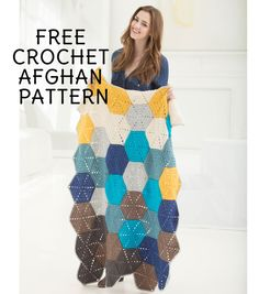 How to Make a Crochet Shoreline Afghan | FREE Crochet Pattern | Crochet Blanket | Blanket Pattern