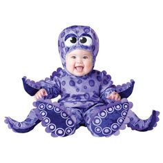 Tiny Tentacles Infant Octopus Costume