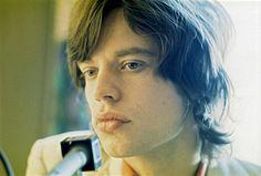 Immagine di Mick Jagger — Mick Jagger at the press conference 1969.