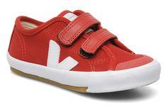 Veja GURIS VELCRO KIDS (Röd) - Sneakers på Sarenza.se (168243)