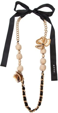 DIY Marni Necklace Ribbon