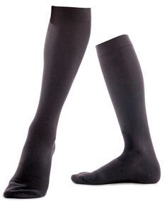Unisex Cotton Half Hose Graduated Compression 18-21 mmHg / 140den