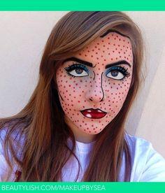 Maquillaje de cómic. | Sarah A. 's (Makeupbysea) Foto | Beautylish