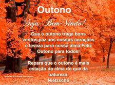 Outono, seja bem vindo!!!