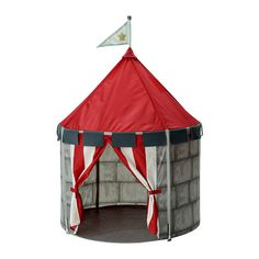 IKEA - BEBOELIG, Children's tent, , Creates a sheltered spot, a room in the room, to play or just cuddle up in.Easy to move or take down when not in use.