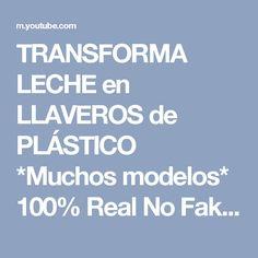 TRANSFORMA LECHE en LLAVEROS de PLÁSTICO *Muchos modelos* 100% Real No Fake - YouTube