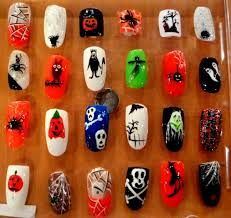 Image result for fun halloween nail designs