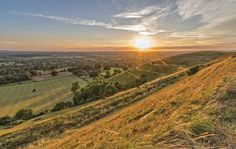 Head out to the English countryside in Dorset.