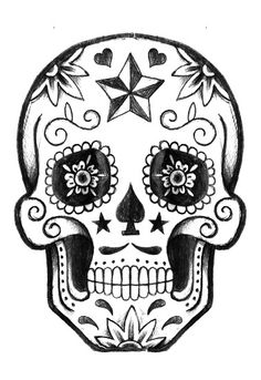 Tattoo leg sleeve color sugar skull 45 ideas for 2019 Mandala Art, Mandala Design, Adult Coloring Pages, Coloring Books, Skull Tattoos, Leg Tattoos, Tatoos, Sugar Skull Art, Sugar Skulls
